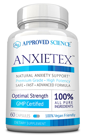 Anxietex ingredients bottle