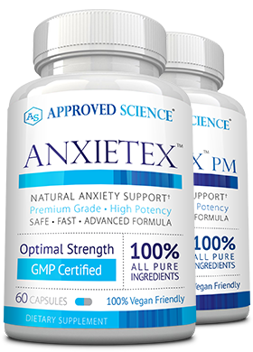 100 Pure Ingredients Optimal Strength Gmp Certified Anxitex